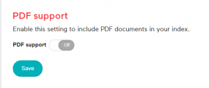 PDF-support-setting