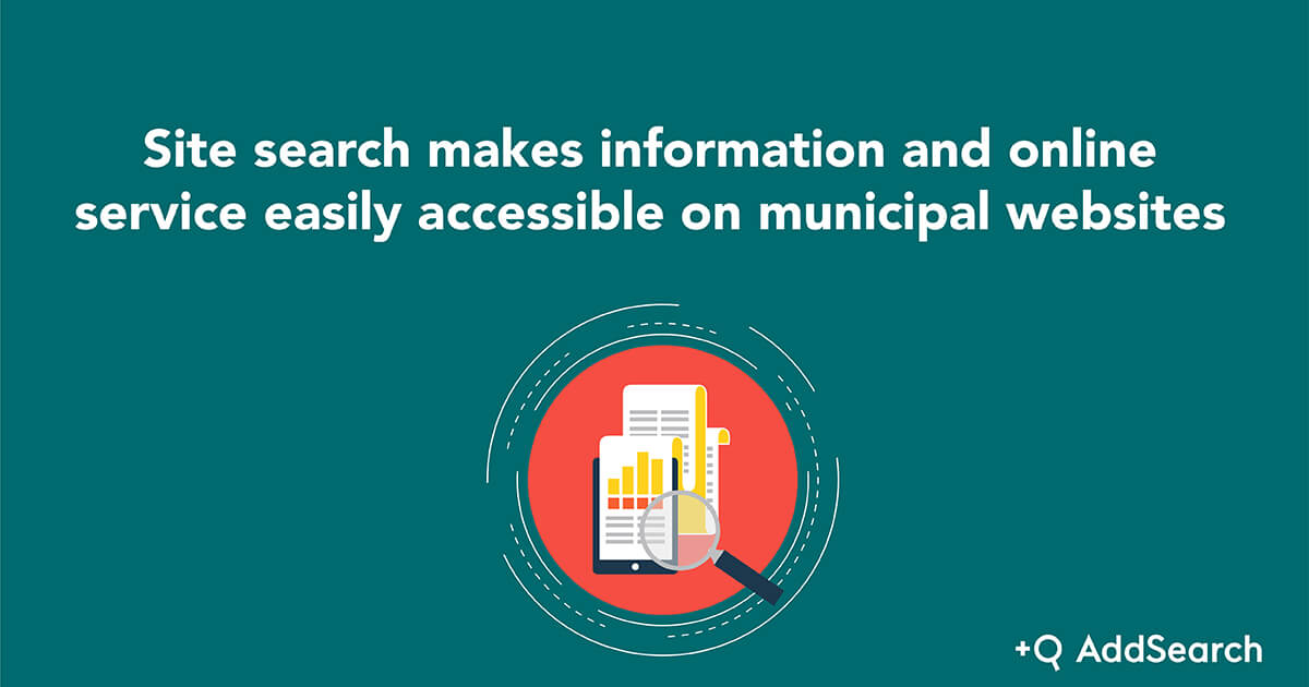 Picture which arguments site search making information accessible to municipal websites.
