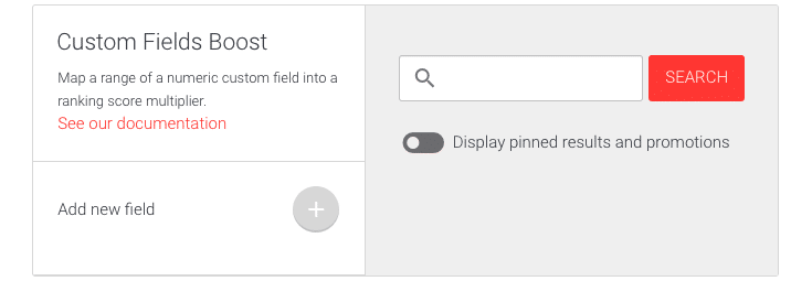 Picture of Custom fields boost user interface.